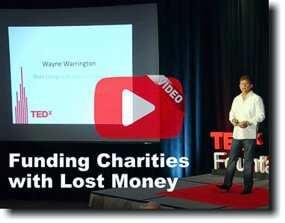 Wayne Warrington speaks TEDX Lost Money